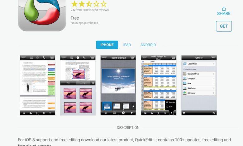 App Office² Plus
