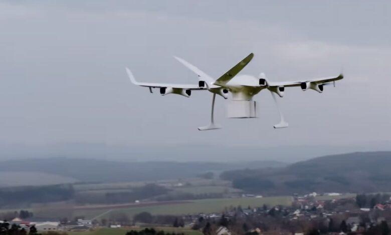 on-demand drone delivery platform